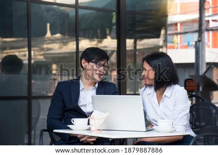 succès · belle · femme · d'affaires · beauté · jeunes - photo stock © hasloo