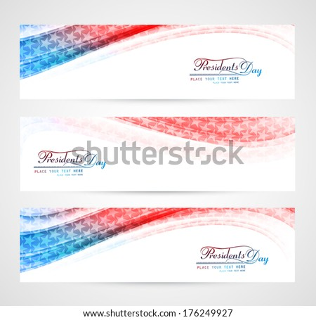 Beautiful United States of America in President Day with heart c Stock photo © bharat
