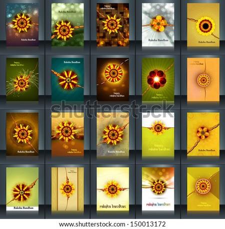 Belo folheto indiano festival coleção colorido Foto stock © bharat