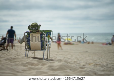 praia · belo · mar · verão · primavera · abstrato - foto stock © thanarat27