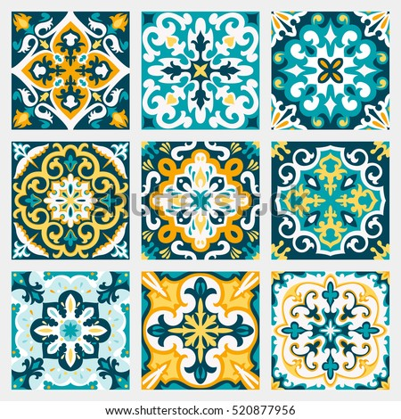 Set pattern vintage seamless. Old Royal desktop. Vector backgrou Stock photo © popaukropa