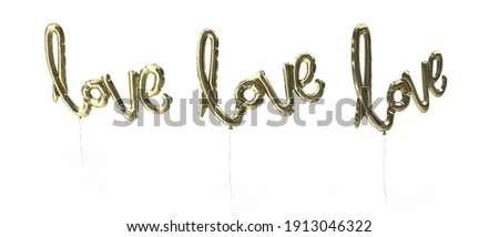3d group of words shaping a heart with pink background aerial vi Stock photo © vipervxw