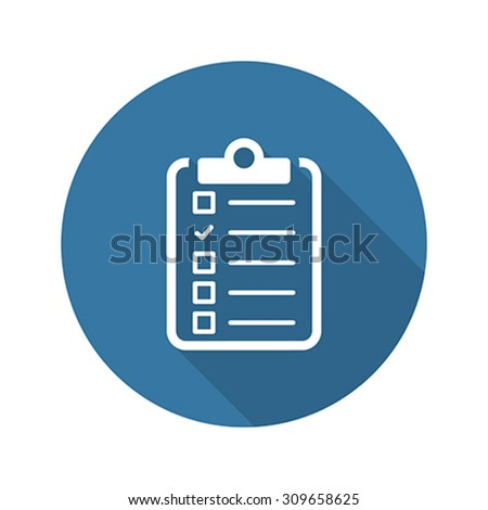 Health Tests and Medical Services Icon. Flat Design. Long Shadow Stock photo © WaD