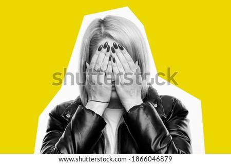 fiatal · nő · mér · derék · mérőszalag · portré · nő - stock fotó © deandrobot