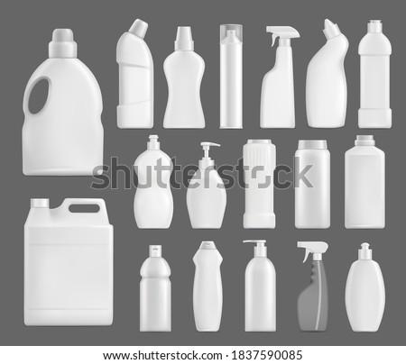 3D 洗剤 ボトル アップ ベクトル ストックフォト © pikepicture