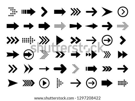 Kattintás vektor ikon kurzor szimbólum kör Stock fotó © kyryloff