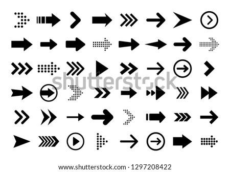 Click vector icon, cursor symbol with circle. Modern, simple flat vector illustration for web site o Stock photo © kyryloff