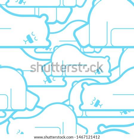cute · christmas · winter · beer · doodle - stockfoto © maryvalery