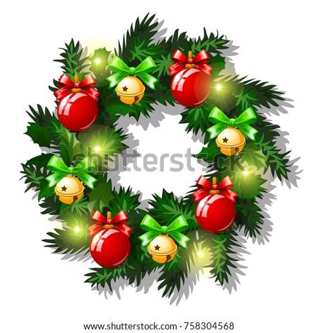 Natale sketch rosso vetro Foto d'archivio © Lady-Luck