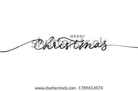 веселый Рождества иллюстрация типографики праздник свет Сток-фото © articular