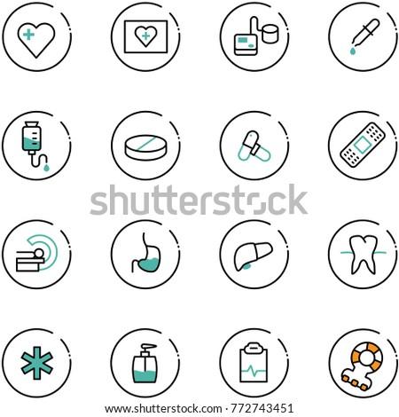 médico · ícone · sombra · fundos · pressão · arterial - foto stock © Imaagio