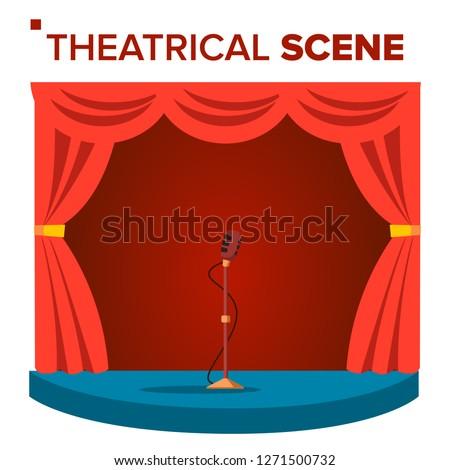 少年 · ドラマ · を見る · ステージ · 実例 · 芸術 - ストックフォト © pikepicture