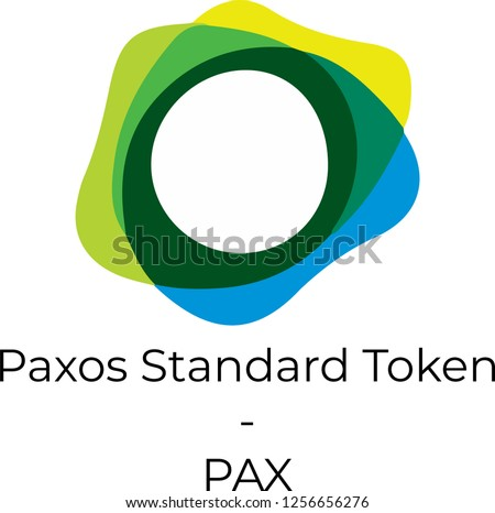PAX - Paxos Standard Token. The Crypto Coins or Cryptocurrency L Stock photo © tashatuvango