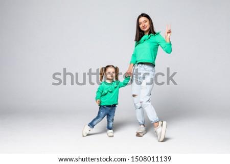 выстрел счастливым матери свободное время мало дочь Сток-фото © vkstudio