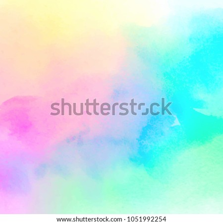Abstract green and yellow colored vector smoke background with b Stock photo © lenapix