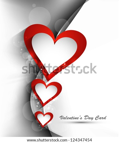 美しい 心 幸せ バレンタインデー カード 幻想的な ストックフォト © bharat