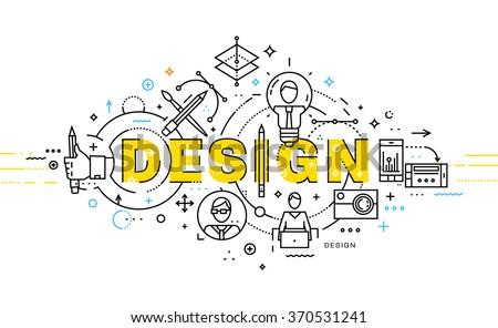 Ikonok mérnöki terv művészet tervez vezetőség Stock fotó © LoopAll