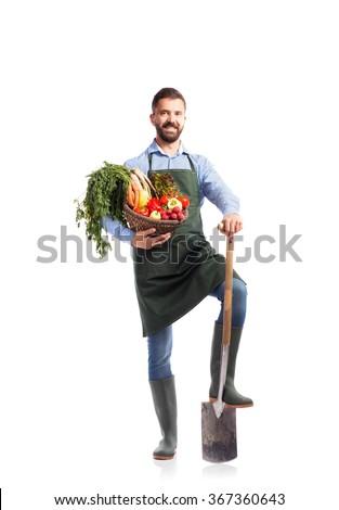 verduras · frescas · regadera · negro · tierra · alimentos · hoja - foto stock © alinamd