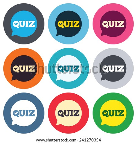 question flat blue and white colors round button stock photo © ahasoft