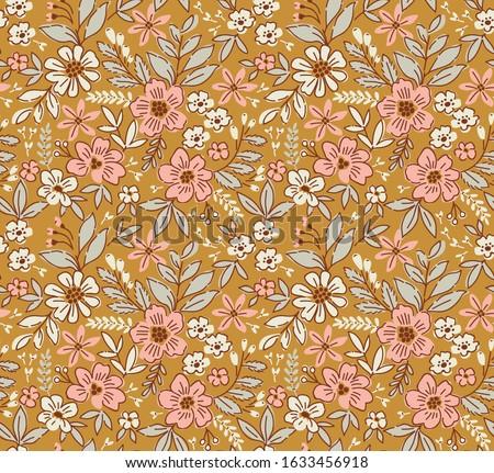 フローラル · レストラン · メニュー · デザイン · 花柄 · カバー - ストックフォト © fresh_5265954