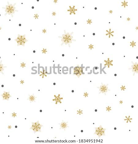 Karácsony fehér hópehely végtelen minta pont művészet Stock fotó © RedKoala