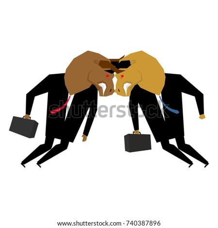 gevaar · boos · baas · agressief · hoofd · Rood - stockfoto © maryvalery