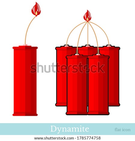 Dynamiet geïsoleerd witte macht kleuren grafische Stockfoto © Lady-Luck