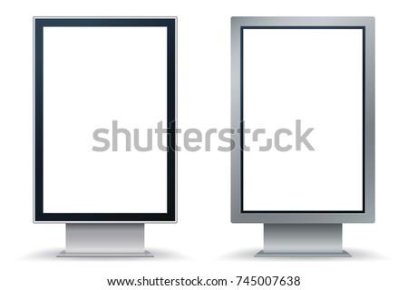 Vecteur affiche modèle noir métal Photo stock © articular