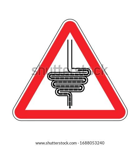 cartello · stradale · abstract · strada · design · sfondo · segno - foto d'archivio © maryvalery