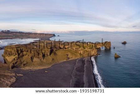 Panorámakép kilátás végtelen kék tengeri kilátás tenger Stock fotó © artjazz