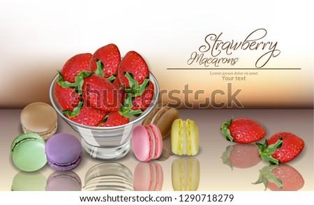 kleur · banketbakkerij · banner · croissants · chocolade - stockfoto © frimufilms