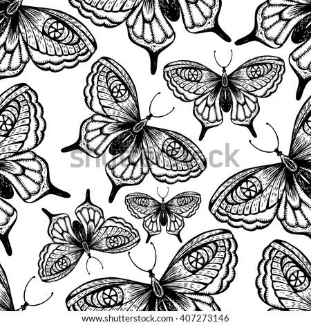 Retro encaje establecer blanco negro decoración Foto stock © RedKoala