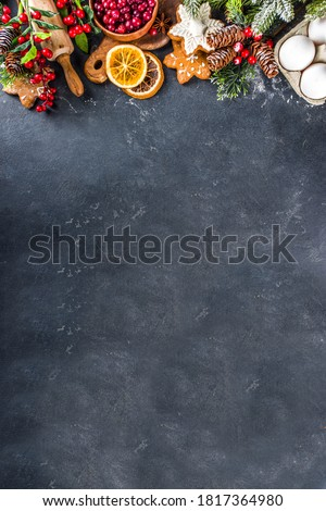 Banner cocina ingredientes panadería marco Foto stock © Illia