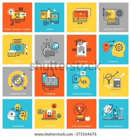 Online education opportunities abstract concept vector illustrations. Stock photo © RAStudio