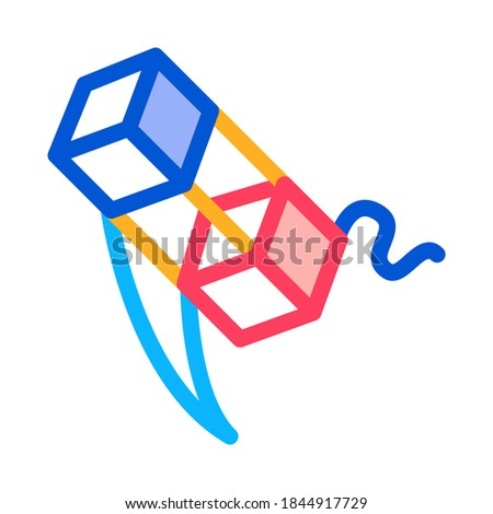 Antenne string icon vector schets Stockfoto © pikepicture