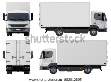 Small Truck Stock fotó © Mechanik