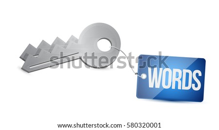 Key Words - key to successful website optimization in meta data Stock photo © fenton