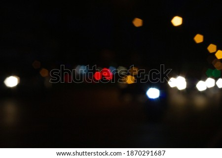Cars moving traffic with brurred  blur headlights on the tunnel Stock photo © lunamarina