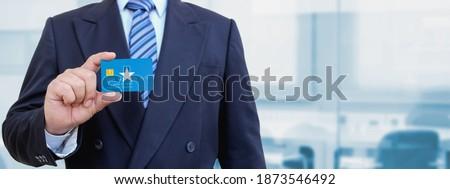 creditcard · atol · vlag · bank · presentaties · business - stockfoto © tkacchuk
