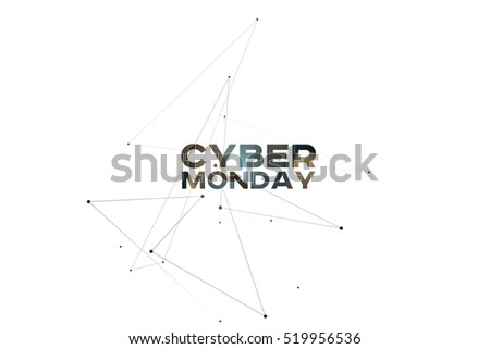 Concept Background for Black Friday, Cyber Monday or other Big S stock photo © almagami