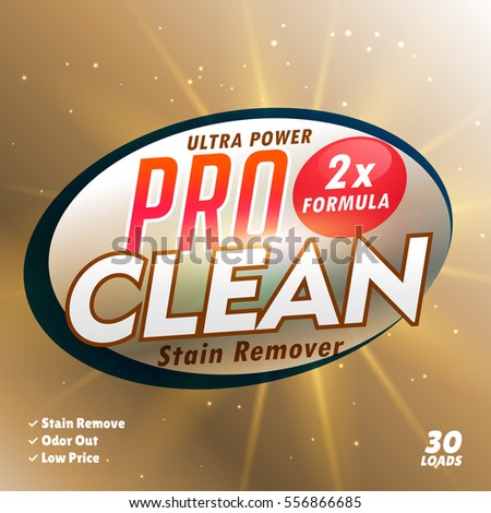 bathroom cleaning and laundry detergent product designing templa Stock photo © SArts