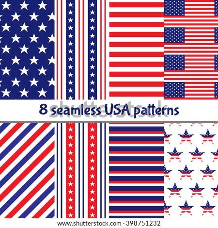 Four diagonal patterns collection. Diagonal lines seamless black Stock photo © pashabo