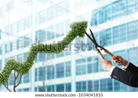 Geschäftsmann Anlage wie arrow Stock foto © alphaspirit