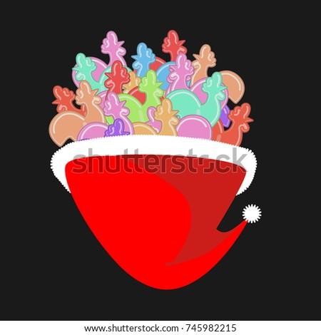 красный · сахар · Stick · изолированный · белый · десерта - Сток-фото © popaukropa