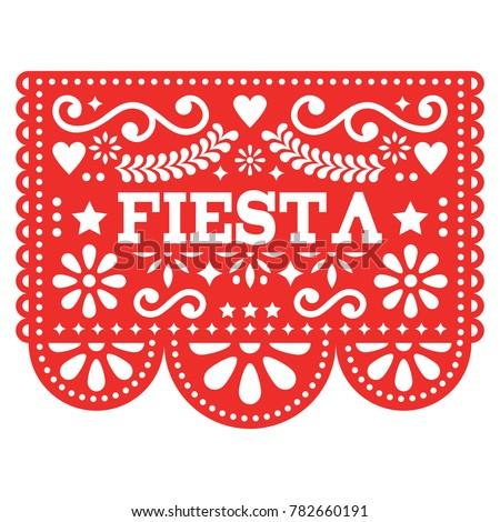 Mexikói buli vektor terv piros fiesta Stock fotó © RedKoala