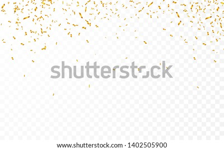 Oro confeti celebración carnaval lujo Foto stock © olehsvetiukha