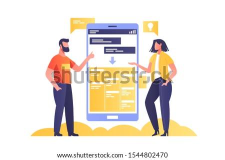 チームワーク 協力 ワイヤレス ベクトル デジタル ストックフォト © robuart