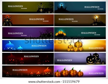 Abstract heldere kleurrijk 12 collectie halloween Stockfoto © bharat