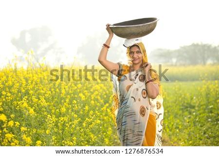 женщины фермер культурный сельскохозяйственный области Постоянный Сток-фото © stevanovicigor