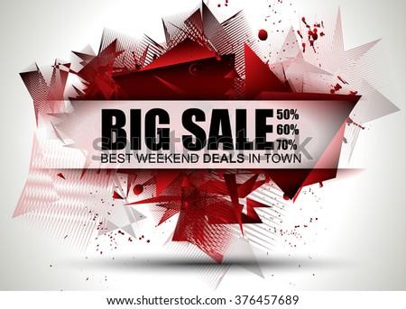 Büyük satış en iyi zaman web afiş Stok fotoğraf © DavidArts